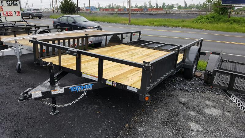 2018 Top Hat 7 X 14 ATV Trailer w/ Side Loading Ramps