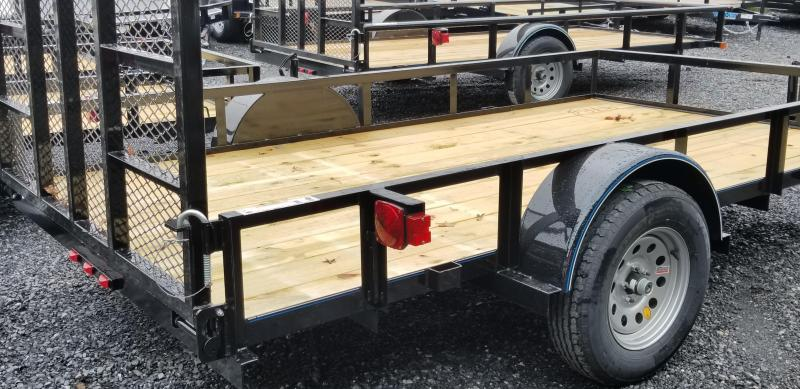 2019 Top Hat Trailers DERBY SR ANGLE 6.5X12 Utility Trailer