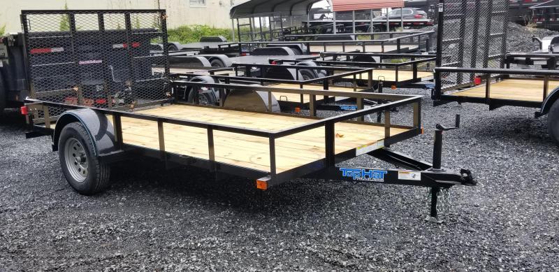2019 Top Hat Trailers DERBY SR ANGLE 6.5X12 Utility Trailer in Ashburn, VA