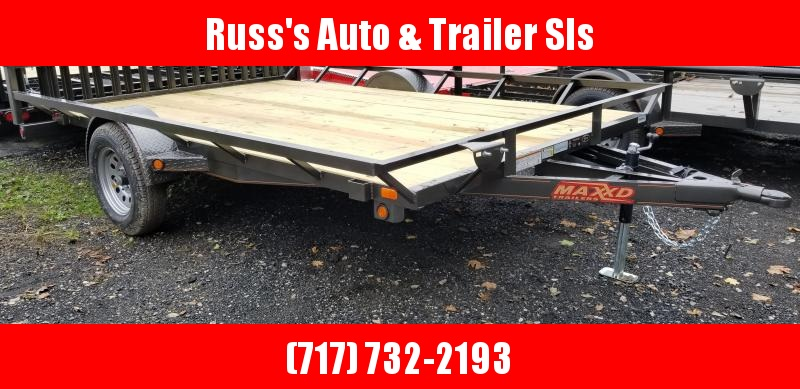 2019 Maxxd Trailers ASX ATV Trailer 7x12 Single Axle