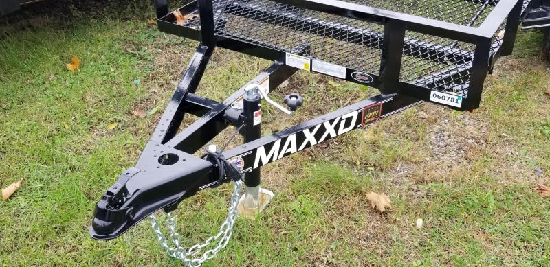"2019 Maxxd Trailers S1M 8'X50"" Utility Trailer w/ Metal Floor"