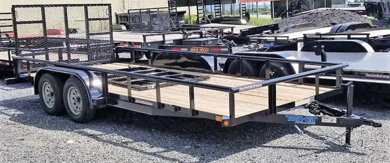 2019 Top Hat Trailers MP 7 x18 Utility Trailer
