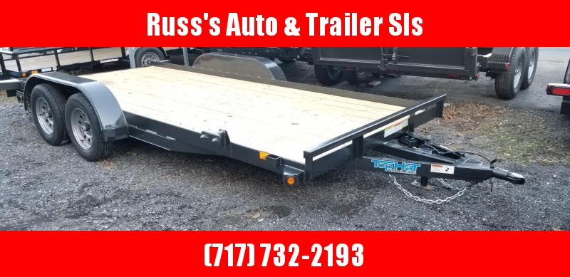 2019 Top Hat Trailers 7x16 Carhauler 7K Slide-In Ramps in Ashburn, VA