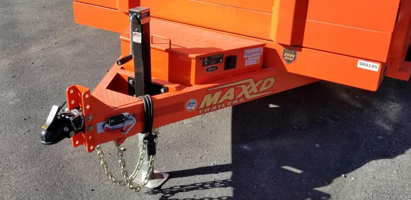 2019 Maxxd  DMX 7X14 Dump Trailer w/ 7' Slide-In Ramps