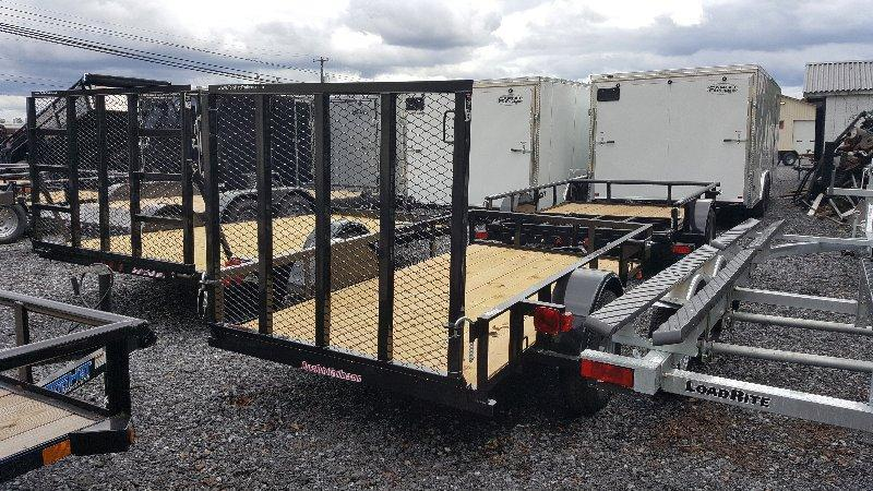 2019 Top Hat 5X10 Angle Utility Trailer w/Ramp
