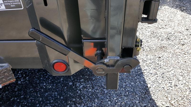 2018 Maxxd  DMX 7X14 Dump Trailer w/ 7' Slide-In Ramps