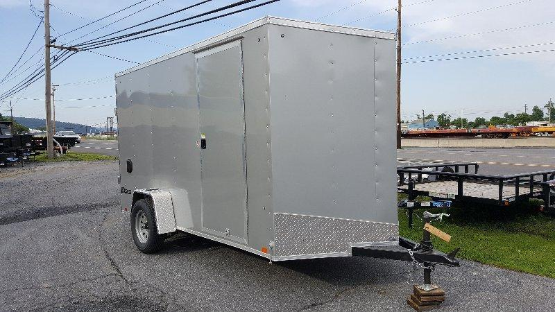 2018 Cargo Express EX DLX 6 X 12 Enclosed Trailer w/ Ramp Door