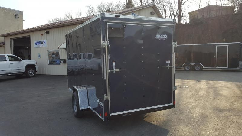 2019 Cargo Express Ex DLX Enclosed w/Ramp Door