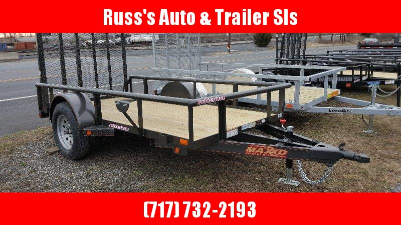 2018 Maxxd S3X 5X8UTILITY TRAILER- BLACK in Ashburn, VA