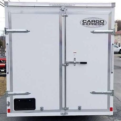 2020 Cargo Express 6X12 EXDLX Enclosed Trailer w/Double Doors