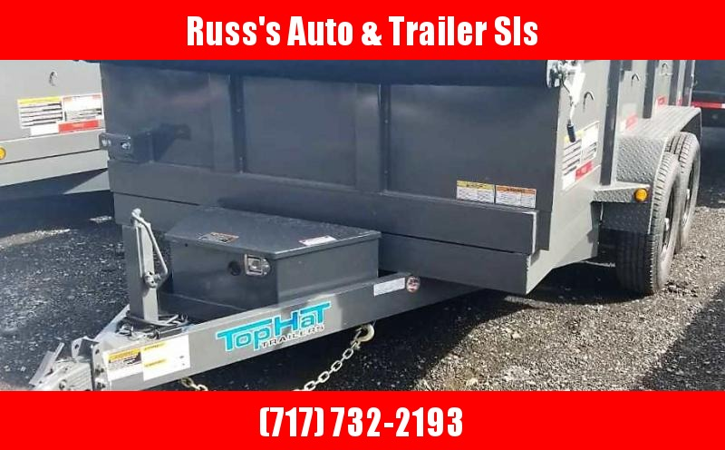 2019 Top Hat Trailers DP120 7X12 Dump Trailer 12K