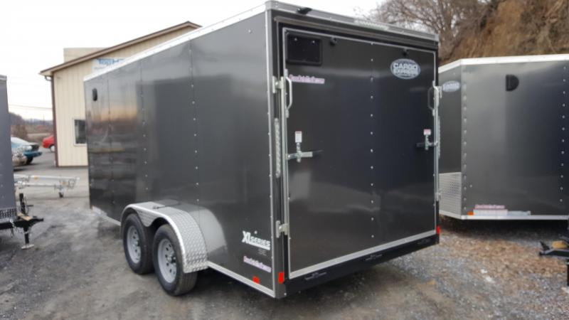 2019 Cargo Express Xlw Se 7X16 Charcoal Enclosed