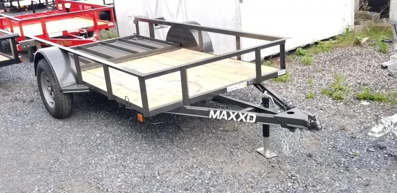 2019 Maxxd S2M 5X10 White Series Angle Utility Trailers