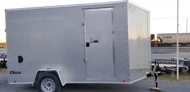 2019 Cargo Express 7X12 EX DLX Enclosed Trailer W/7' Int Ht