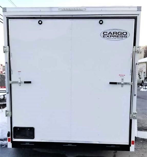 2020 Cargo Express 7X12 EX DLX Enclosed Trailer W/7' Int Ht