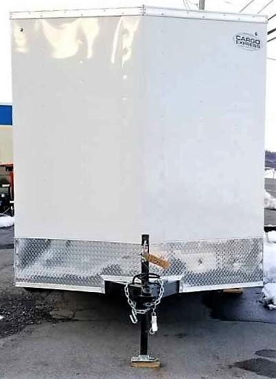 2020 Cargo Express 7X12 EX DLX Enclosed Trailer W/7' Int Ht
