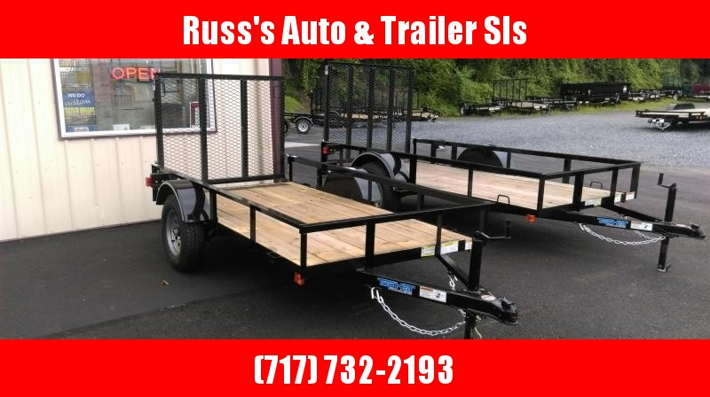 2017 Top Hat Trailers DJ 25 Utility Trailer 4.5 X 9 Wood Floor