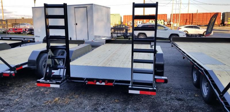 2019 Top Hat Trailers  7X16 Equipment Hauler 10K