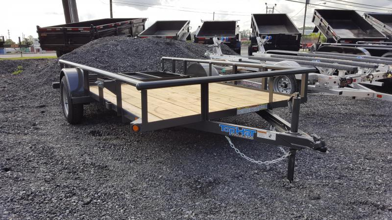 2019 Top Hat Trailers DSP 6.5x12 Utility Trailer