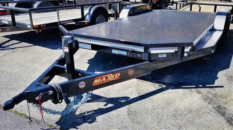 2019 MAXXD 7X18 Car Hauler 7K Steel Deck