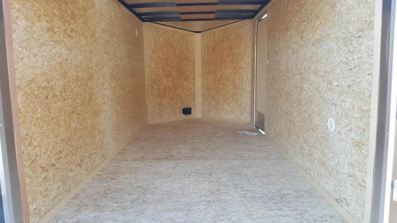 2018 Cargo Express 7 X 14 XLW Enclosed Trailer w/ Ramp Gate