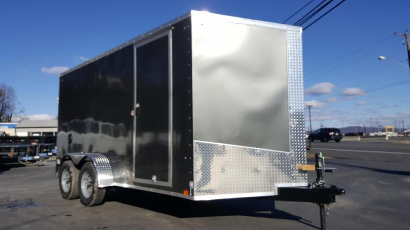 2018 Cargo Express 7 X 14 XLW Enclosed Trailer w/ Ramp Gate