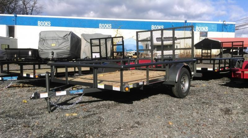 2018 Top Hat 5 X 10 DSP Utility Trailer Charcoal