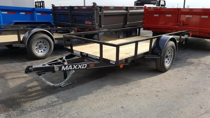 2018 Maxxd 5 X 10 Utility Trailer White Series TILT-GRAY