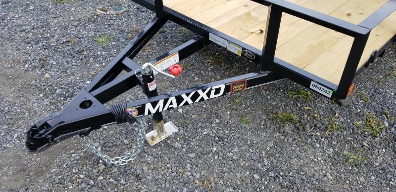 2019 Maxxd S2M 5X10 White Series Angle Utility Trailers