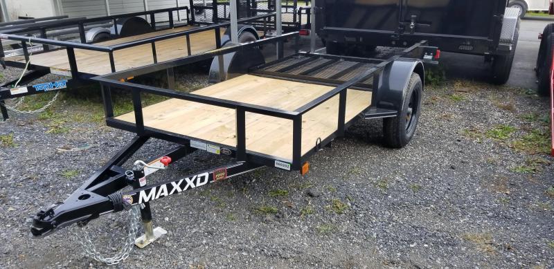 2019 Maxxd 5X10 White Series Angle Utility Trailer