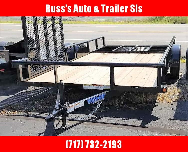 2019 Top Hat 7x14 Utility Trailer