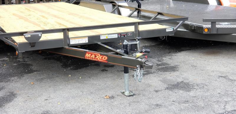 2019 MAXXD 7X18 ATV Hauler 7k GVWR w/Ramps