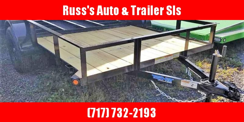 2020 Top Hat 6.5X10 Angle Utility Trailer