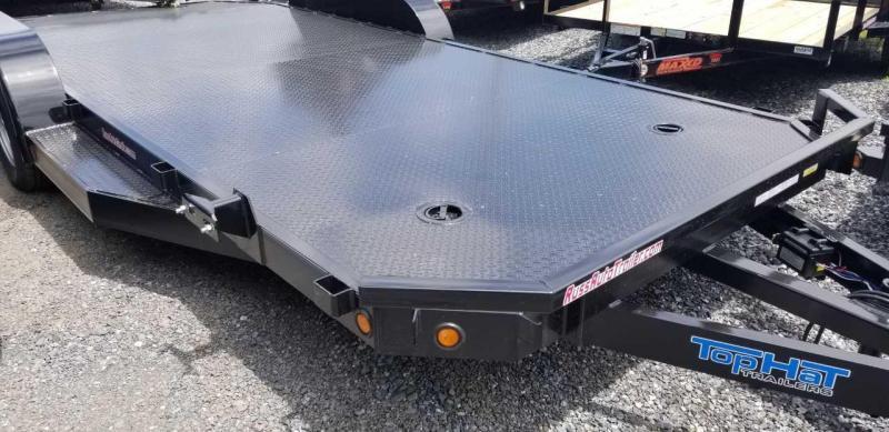 2019 Top Hat 7 X 18  ASCH CarHauler w/Steel Deck 7k