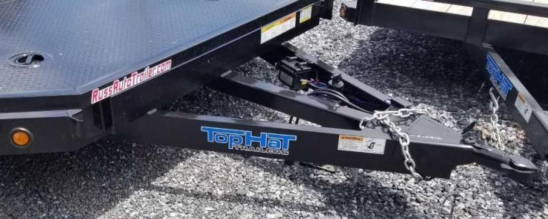 2019 Top Hat 7 X 18 CarHauler w/Steel Deck 7k