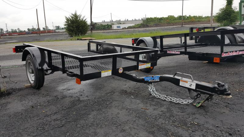 2017 Top Hat 4X6 Mesh Floor Single Axle Utility Trailer