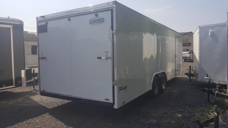 2019 Cargo Express Xlw Se 8.5 X 24 Enclosed Trailer W/ Escape Door