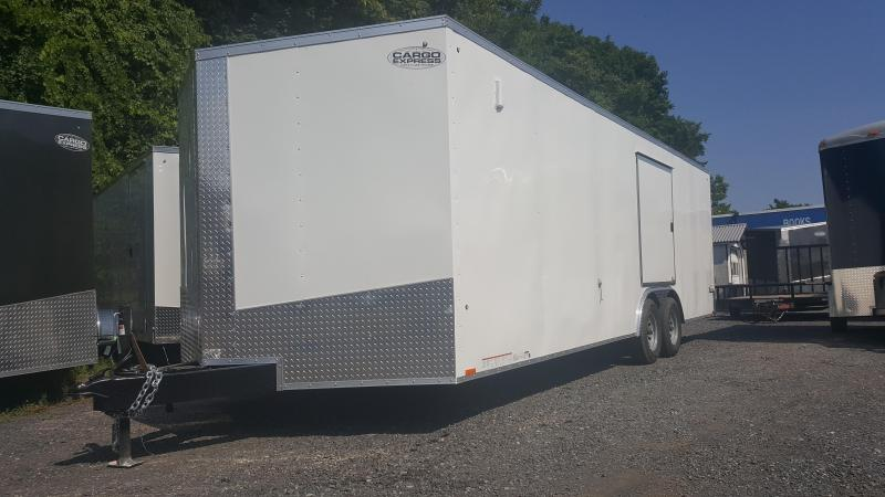 2019 Cargo Express Xlw Se 8.5 X 24 Enclosed Trailer W/ Escape Door