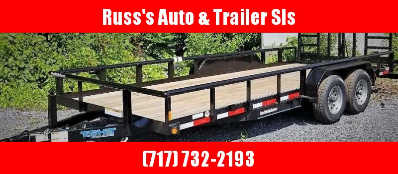 2019 Top Hat 7X18 HP Trailer- 10K W/HD Split Gate