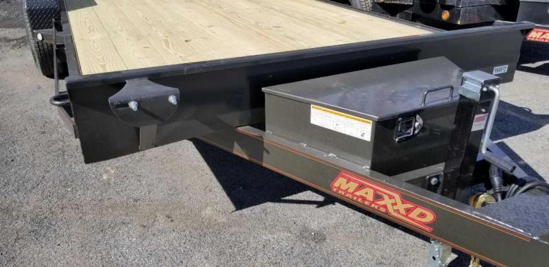 "2019 MAXXD T5X 7X20 5"" Channel Power Tilt Trailer"