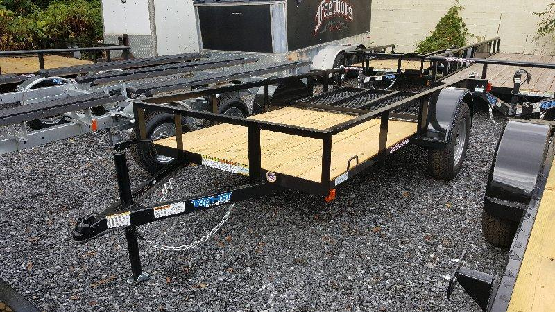 2018 Top Hat 5X10 Angle Utility Trailer w/Ramp