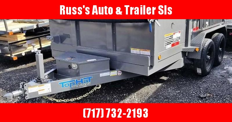 2019 Top Hat 7X12 DP100 Dump Trailer in Ashburn, VA