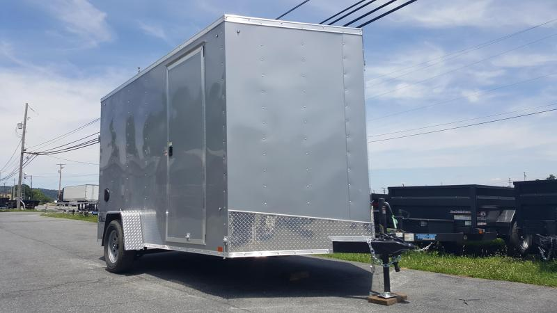 2019 Cargo Express 7 X 12 EX DLX Enclosed Trailer w/ 7Ft Interior Height