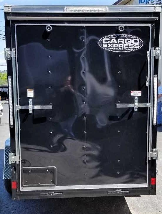 2020 Cargo Express 5X10 EX DLX Enclosed Trailer