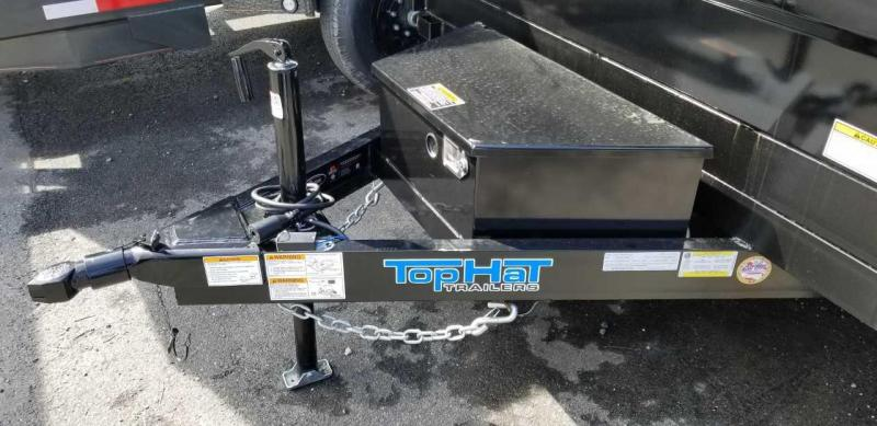 2019 Top Hat 6.5X10 DP70 Dump Trailer w/Tarp