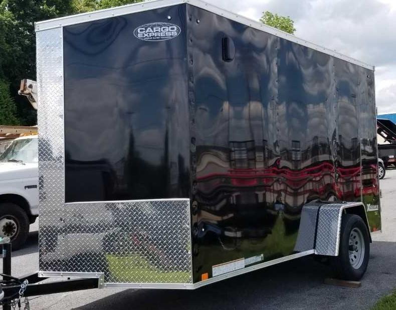 2020 Cargo Express XLW 6 X 12 Enclosed Cargo Trailer