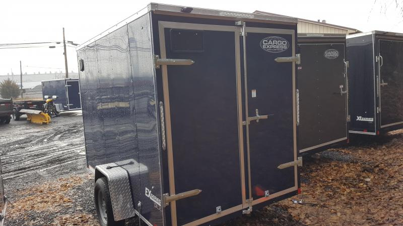 2019 Cargo Express 6X10 EX DLX Enclosed Trailer w/Doors