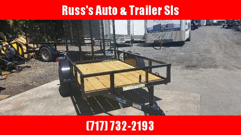2018 Top Hat 5 X 8 Wood Deck Utility Trailer