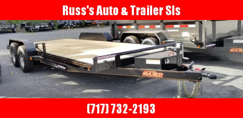 "2019 Maxxd  C5X  7X20 Car Hauler 5"" channel Wood Deck"