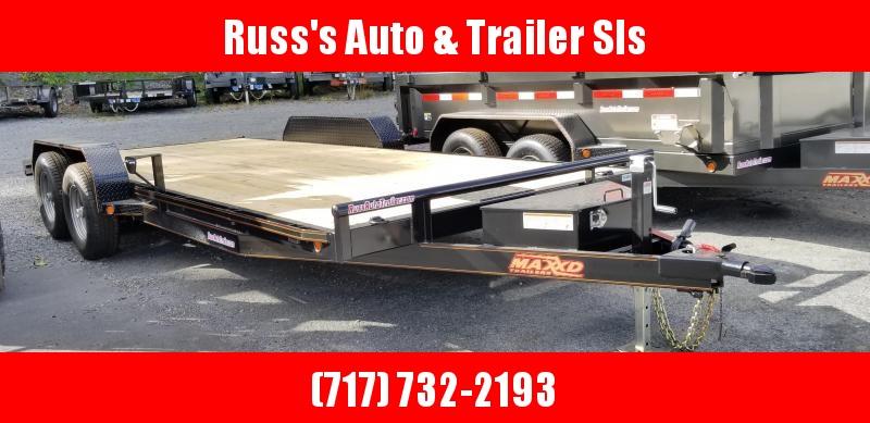 """2019 Maxxd  C5X  7X20 Car Hauler 5"""" channel Wood Deck in Ashburn, VA"""